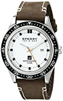 Sperry Top-Sider Men's 10008966 Halyard Analog Display Japanese Quartz Brown Watch by Sperry Top-Sider Watches MFG Code