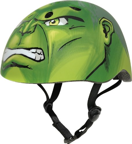 Marvel Hulk Hero Helmet, Green