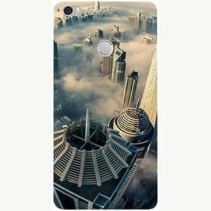 Casotec City Scapes Design 3D Printed Hard Back Case Cover for Xiaomi Mi Max