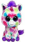 Toy - TY 36982 - Pl�schtier Beanie Boos Glubschi, Wishful Buddy-Einhorn, gepunkt, large
