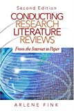 img - for Conducting Research Literature Reviews: From the Internet to Paper by Arlene G. Fink (2004-11-17) book / textbook / text book