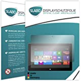 "2 x Slabo Displayschutzfolie Microsoft Surface Pro | Surface Pro 2 Displayschutz Schutzfolie Folie ""Crystal Clear"" unsichtbar MADE IN GERMANY"