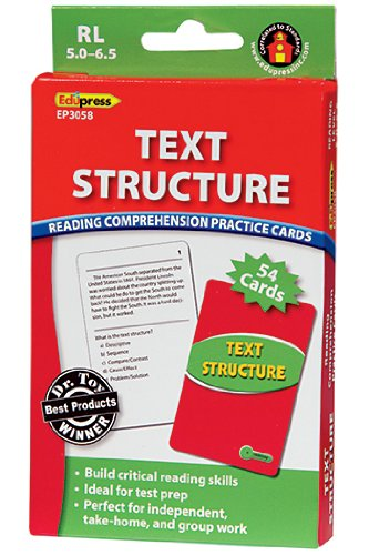 Edupress EP-3058 Text Structure Rcpc Green Level
