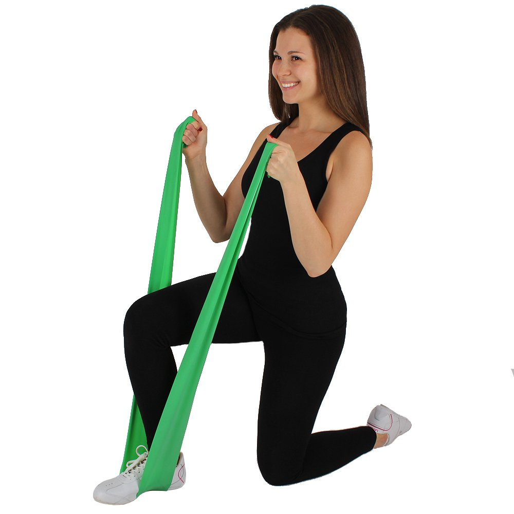 Set 3 Flat Stretch Bands Exercise Bands $15.9 From Amaxon