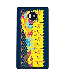 Stripes And Elephant Print-73 Microsoft Lumia 950 XL Case