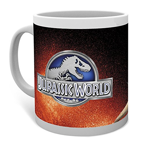 GB-eye-Jurassic-World-T-Rex-Red-Mug