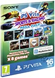 Sony PlayStation Vita Sports & Racing Mega Pack on 16GB Memory Card