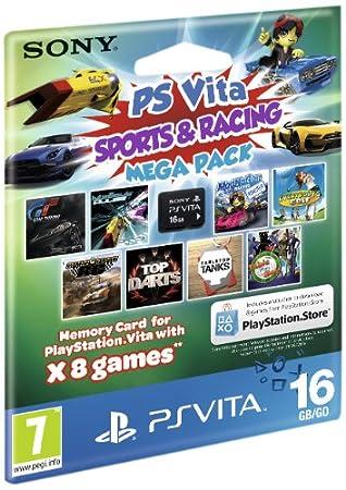 Sony PlayStation Vita Sports & Racing Mega Pack on 16GB Memory Card
