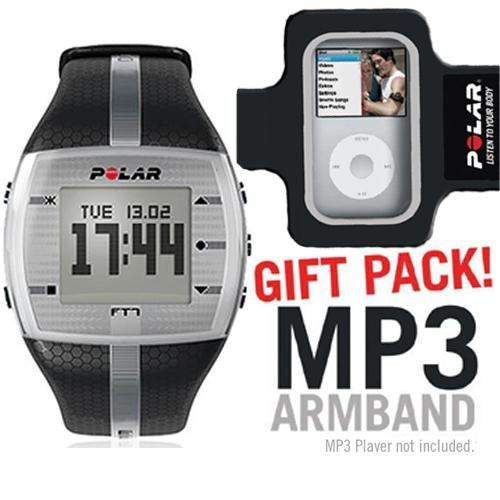 Cheap Polar 99039722 FT7M Black Silver with MP3 Armband (B003K22GXY)