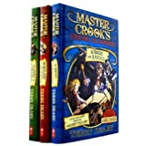 Master Crook's Crime Academy 3 Books Collection Set (Robbery for Rascals (Master Crook's Crime Academy),Burglary for Beginners (Master Crook's Crime Academy)  Classs in KIDNAPPING)by Terry Deary