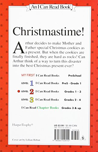 Arthur's Christmas Cookies (I Can Read Books: Level 2)