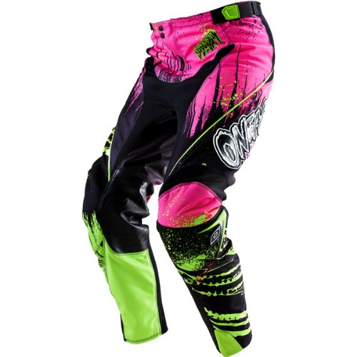 O'Neal Racing Mayhem Crypt Youth Boys Off-Road/Dirt Bike Motorcycle Pants - Black/Neon / Size 12/14