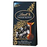 Lindt Lindor Truffles 60% Extra Dark Chocolate, 5.1-Ounce Bags (Pack of 6)