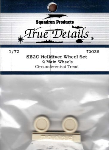 True Details SB2C Helldiver Wheel Set
