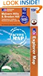 Malvern Hills and Bredon Hill (OS Exp...