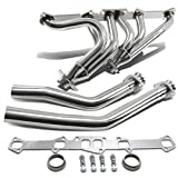 FOR FORD/MERCURY 144/170/200/240/250 I6 CID POLISHED STAINLESS STEEL EXHAUST HEADER