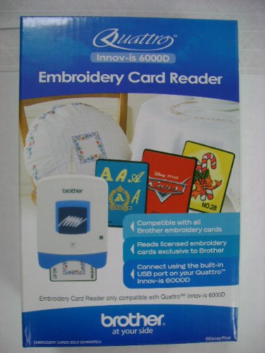 Fantastic Deal! Brother Embroidery Card Reader