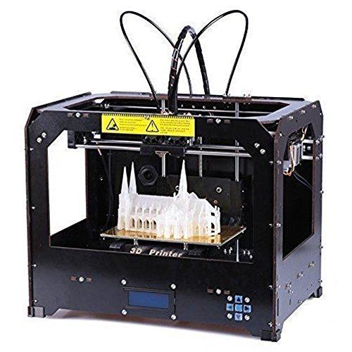 CTC 3d Printer, Dual Extruder + New Extruder + Dual Nozzle, 8.8