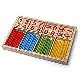 Dimart Math Manipulatives Wooden Counting Sticks Kids Preschool Educational Toys On Sale