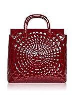 Tosca Blu Bolso shopping (Rojo Oscuro)