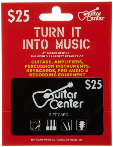 Guitar Center Gift Card $25 (Amazon Music Card compare prices)
