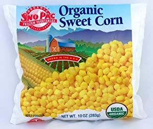 Organic Frozen Corn, 10 oz. Bag: Amazon.com: Grocery & Gourmet Food