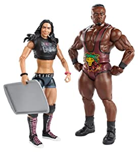 Langston and AJ Lee Figure Aj Lee Clothes Line