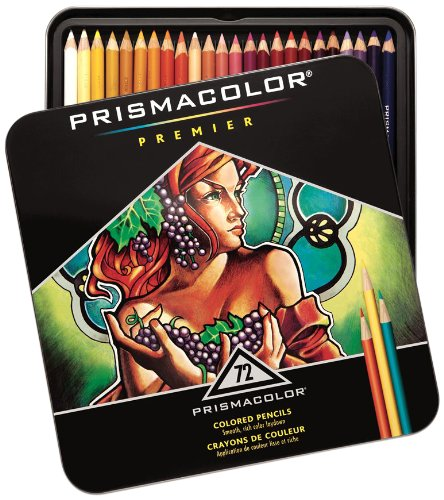 Prismacolor Premier Soft Core Colored Pencils, 72 Colored Pencils front-1059131