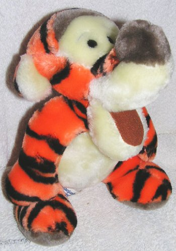 "Older Disney 8"" Plush Tigger From Winnie the Pooh - Made for the Parks"