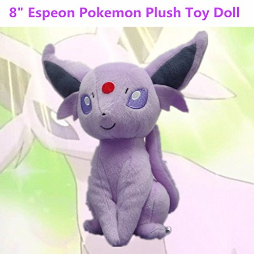 """Pokemon 2015 21,6 cm (8,5 """"Espeon Peluche-Poupée et Mini-Poupée-Poupée et Mini-Poupée-peluche en peluche"""