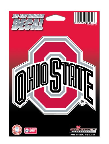 NCAA Ohio State Buckeyes Die Cut Vinyl Decal with Backing (Osu Buckeyes National Champions compare prices)