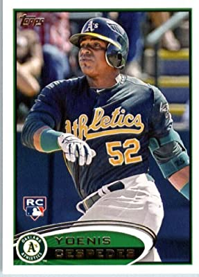 2012 Topps Baseball Card # 396 Yoenis Cespedes RC - Oakland Athletics (RC - Rookie Card) MLB Trading Card