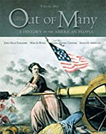 Out of Many: A History of the American People, Combined Volume Plus NEW MyHistoryLab with eText -- Card Package