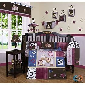 Geenny Boutique 13 Piece Crib Bedding Set Boy Sailor