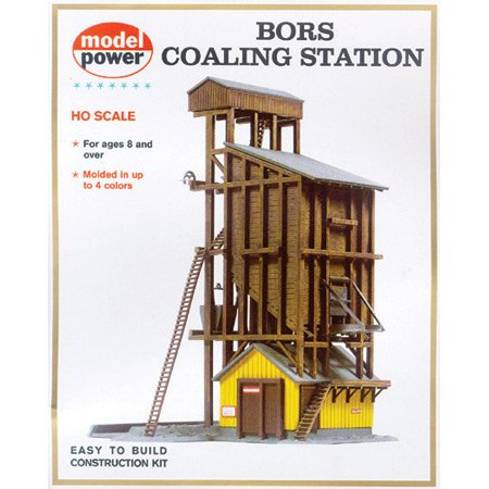 Model Power HO Scale Building Kit - Coaling Station
