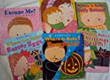 img - for Board Book Set: Where Is Baby's Present, Where Are Baby's Easter Eggs, Where is baby's pumpkin, Where Is Baby's Belly Button - Excuse Me - Can You Say Peace - Whatever You Do, I Love You - Mommy Hugs (Book Sets for Toddlers : Lift the Flap) book / textbook / text book