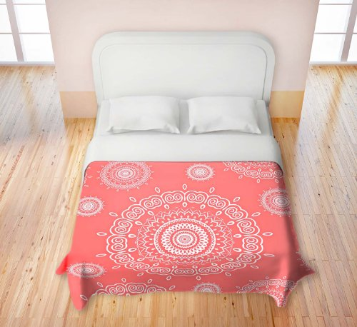 Coral Bedding Queen 8742 front