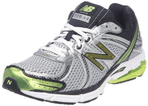 New Balance Men's M770SL2 Silver/Lime Trainer 9 UK, 43 EU, 9.5 US D