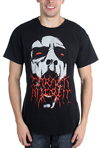 Angren Carach - - T-Shirt alevros viso nero Large