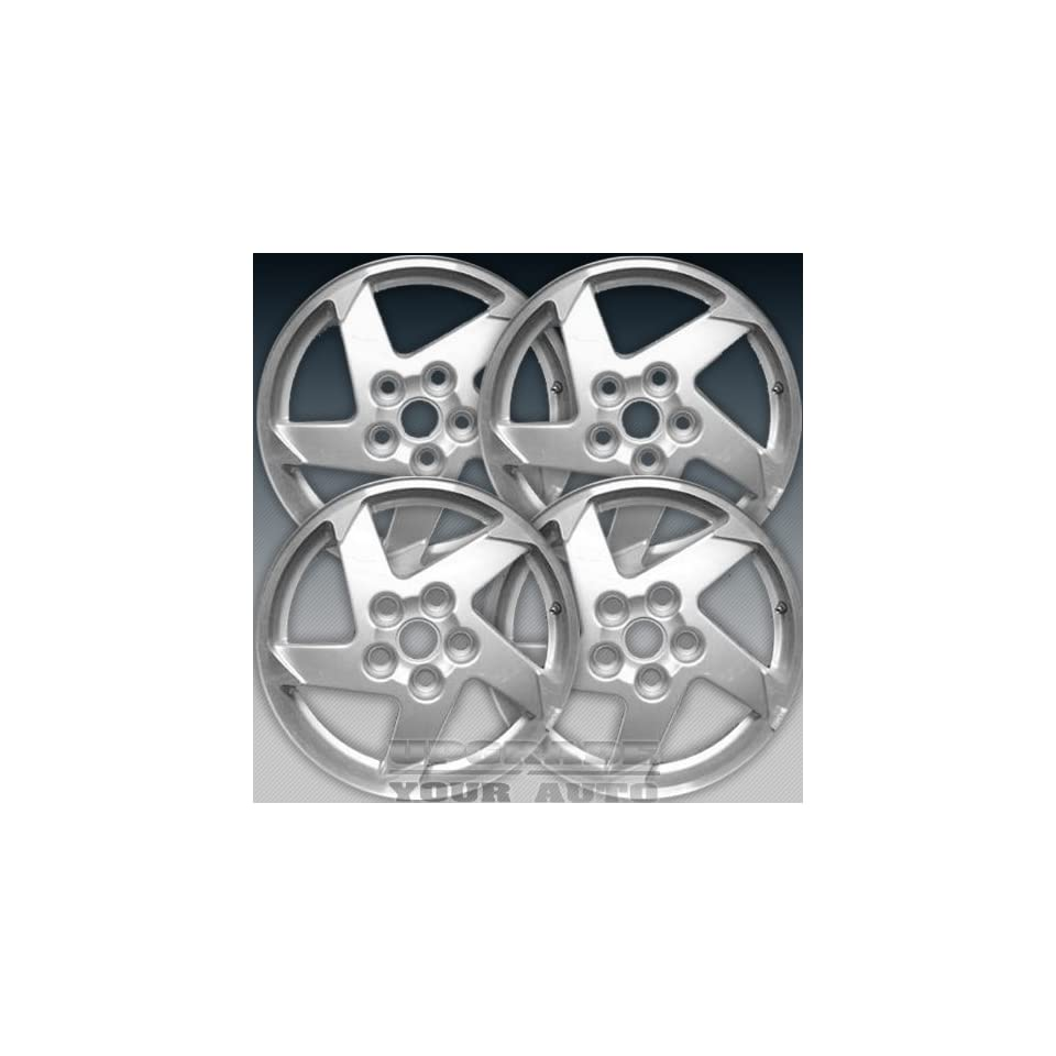 2004 2006 Grand Prix 16x6.5 Factory Replacement Sparkle Silver Wheel Set of 4