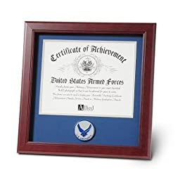 Allied Products Frame Aim High Air Force Medallion Certificate Frame, 8 by 10-Inch by Allied Products