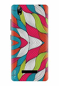 Designer Printed Mobile Back Cover & Case For Gionee Pioneer P5L - By Noise - (TP-56)