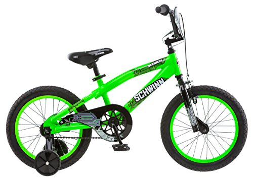 Schwinn Boy's Scorch Bicycle, 16-Inch, Green