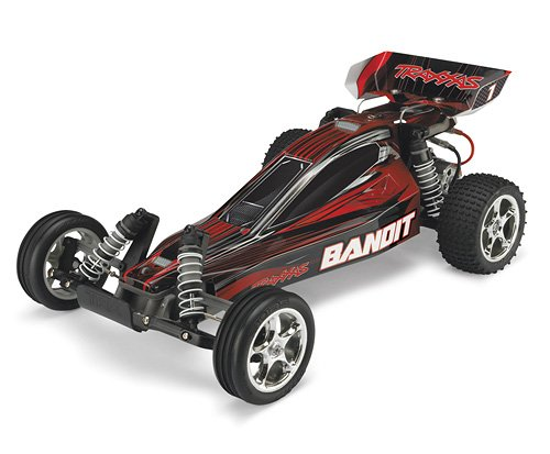 Traxxas RTR 1/10 Bandit Extreme Sports with Water Proof XL-5 RTR and 7 Cell Battery with Charger