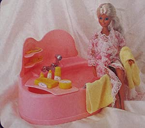 fashion furniture collection bathtub bath tub for barbie maxie 11 5 dolls. Black Bedroom Furniture Sets. Home Design Ideas
