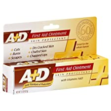 A+D First Aid Ointment, with Vitamins A & D, 1.5 oz.