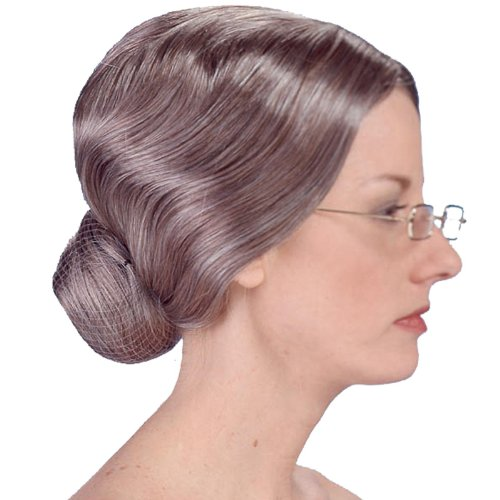 Deluxe Old Lady Wig