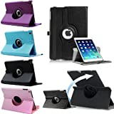 Leather 360 Degree Rotating Smart Stand Case Cover for Apple iPad 2 / 3 / 4 (Blue)