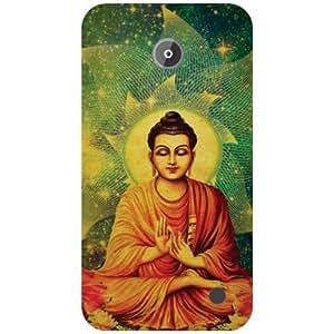 Nokia Lumia 630 Back Cover - Meditation Designer Cases