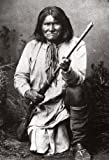 Geronimo Poster, Native American Indian, Warrior and Apache Leader